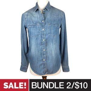 2/$10 • AEO Boyfriend Fit Jean Shirt